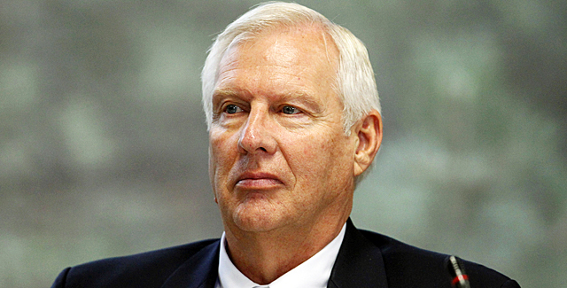 Penn State president Erickson was within his authority to sign off on the NCAA's punishment. (AP)