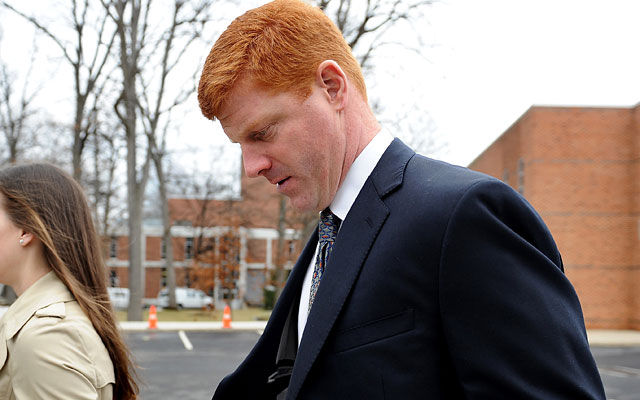 Mike McQueary testified at the trial about what he witnessed in the Penn State football shower. (Getty Images)