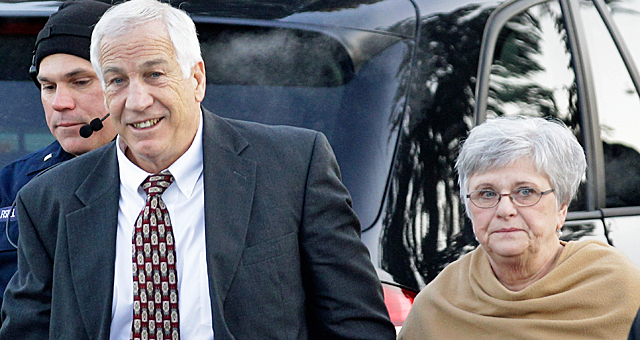 Dottie Sandusky testified she never saw her husband do anything inappropriate with boys. (Getty Images)