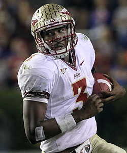 EJ Manuel returns to FSU for his senior season after throwing 18 TDs last year. (US Presswire)