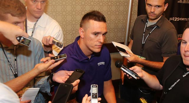 Casey Pachall set a school record with 2,921 yards passing for TCU last season. (US Presswire)
