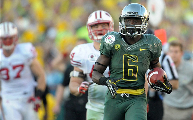 De'Anthony Thomas scored 18 touchdowns on just 140 touches. (U.S. Presswire)