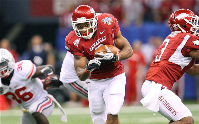 Knile Davis has a chance to emerge as the best running back in the SEC. (U.S. Presswire)