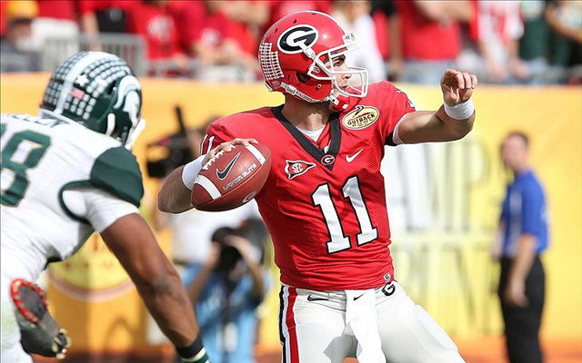 Aaron Murray must cut down on his interceptions to have a shot at the Heisman. (U.S. Presswire)