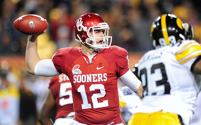 Landry Jones enters the season with 93 career TD passes. (U.S. Presswire)