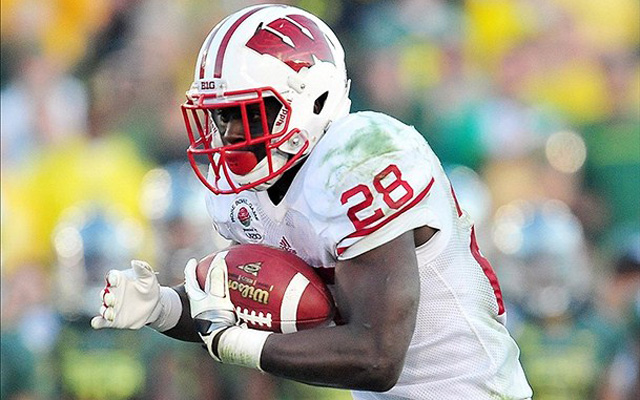 Montee Ball needs only 18 TDs to become the all-time leader in the NCAA. (U.S. Presswire)