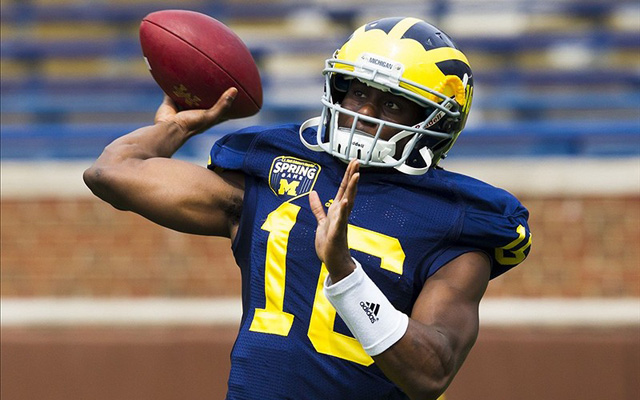 Denard Robinson accounted for 36 total touchdowns for Michigan last year. (U.S. Presswire)