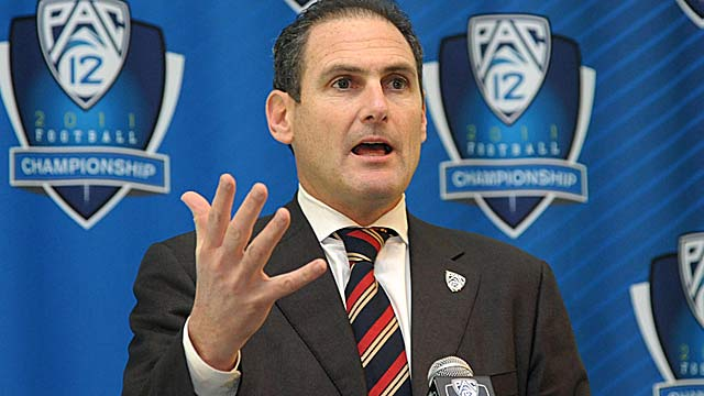 Under Commissioner Larry Scott, the Pac-12 has pressed the reset button. (US Presswire)