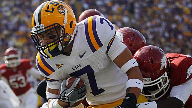 Tyrann Mathieu was revered by Lane Kiffin, who later said the CB was too short. (Getty Images)
