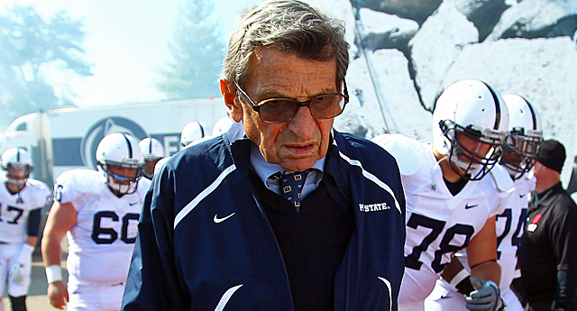 Paterno's file had letter directed toward both him and his assistant coaches. (US Presswire)