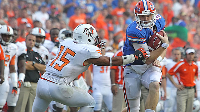 Driskel wins the starting job over fellow sophomore Jacoby Brissett. (US Presswire)