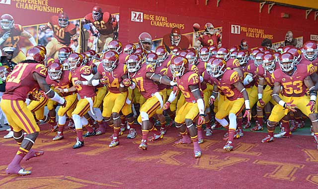 USC has re-emerged as a national title contender after a two-year bowl ban. (US Presswire)