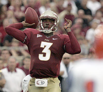 EJ Manuel and the Seminoles jump all over the Tigers early by putting up 35 points in the first quarter. (AP)