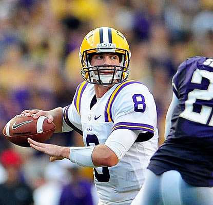 Quarterback Zach Mettenberger and the third-ranked Tigers make easy work of the visiting Huskies. (Getty Images)