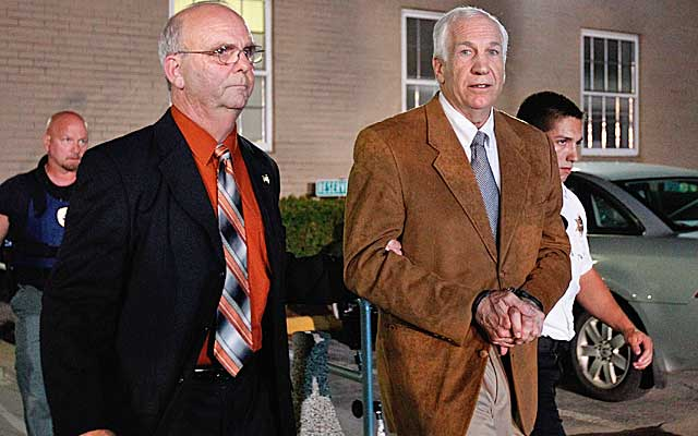 Sandusky is likely to receive a sentence that will keep him in prison for life. (Getty Images)