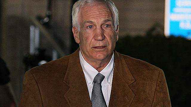 Jerry Sandusky's accuser, known as Victim 1 in court papers, will give his first interview to ABC. (Getty Images)