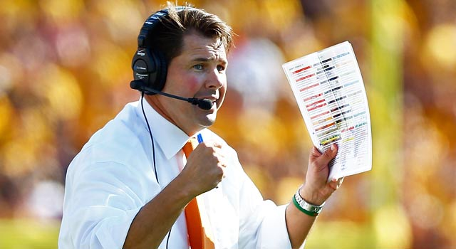 Sean Allen says Miami coach Al Golden (pictured) asked him about recruits. (Getty Images)