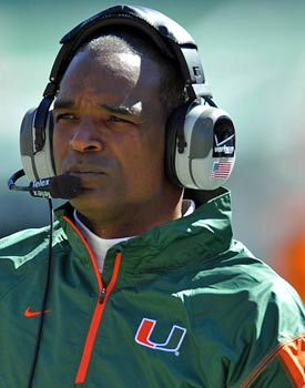 Allen says former Hurricanes coach Randy Shannon warned those around the team to avoid Nevin Shapiro. (US Presswire)