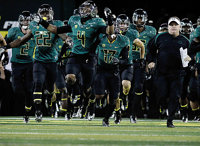 The Ducks held Arizona scoreless even after the Wildcats reached the red zone six times. (Getty Images)
