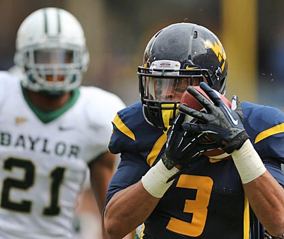 Stedman Bailey catches five TD passes and sets a short-lived Big 12 record with 303 receiving yards (US Presswire)