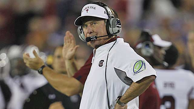 Spurrier has a history of going after local columnists who have been critical of him. (Getty Images)