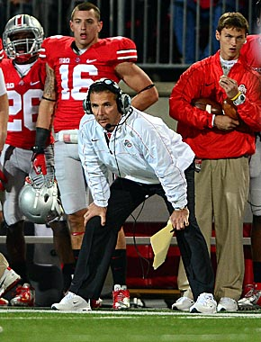 Even faced with a postseason ban, Urban Meyer leads the Bucks back to the top 10. (Getty Images)