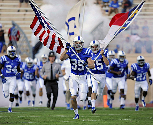 Duke's 17-year bowl drought is the longest among BCS-league schools. (US Presswire)