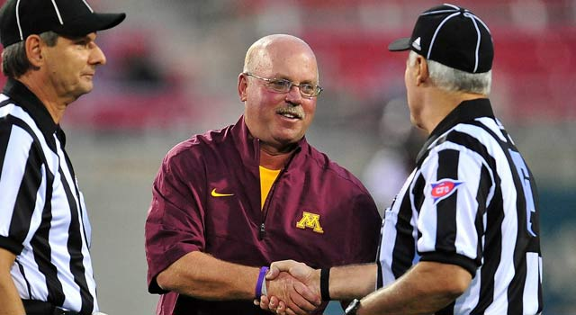Jerry Kill spent seven games in the press box in 2013. (USATSI)