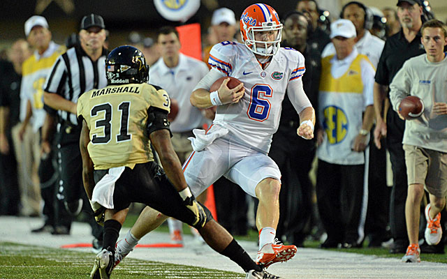 Jeff Driskel and the Gators are a bit of a surprise at No. 2 in the opening BCS rankings. (US Presswire)