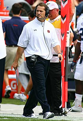Gene Chizik could be on the hot seat at Auburn. (US Presswire)