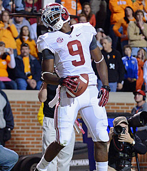 Alabama Crimson Tide wide receiver Amari Cooper. (US Presswire)