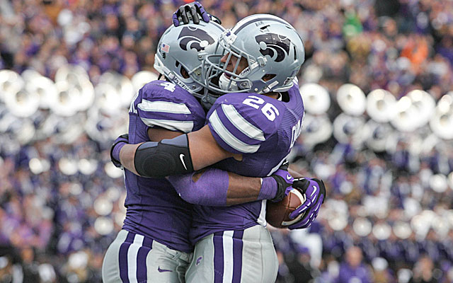 Kansas State is ranked third in each poll. (US Presswire)