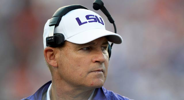 Les Miles has piled up wins and great quotes in his tenure as LSU coach. (US Presswire)