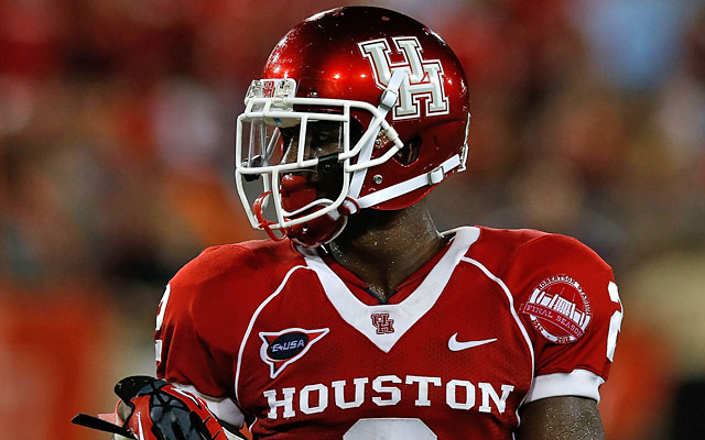 D.J. Hayden leads C-USA with four interceptions, returning two for touchdowns. (Getty Images)