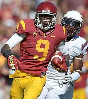 Marqise Lee is too much for the Sun Devils, and everyone else. (US Presswire)