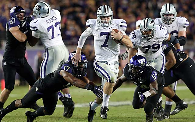 With Alabama out of the way, the road is clear for Kansas State to play in the BCS championship. (US Presswire)