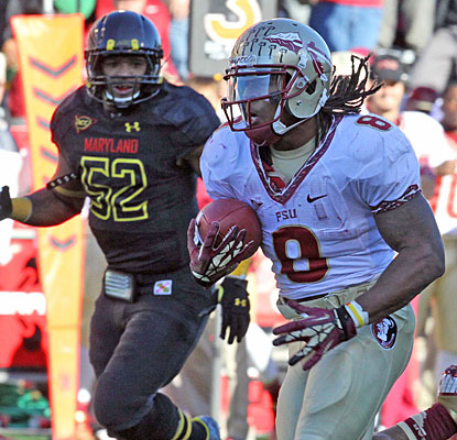 Devonta Freeman helps Florida State's running game bounce back, gaining 148 yards and scoring twice.  (US Presswire)