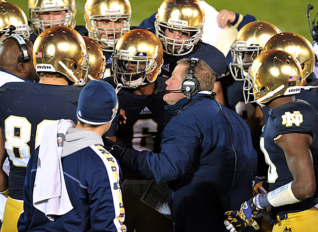 The Irish are No. 1 for the first time since 1993 and may make it into the title game. (US Presswire)
