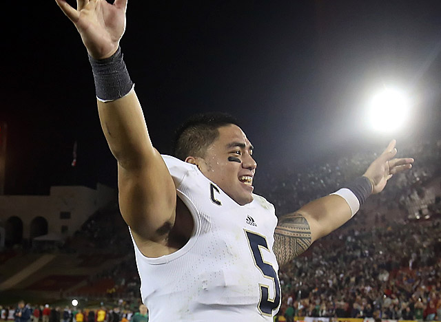 Recruited by Charlie Weis, Te'o helped shape Notre Dame's defensive mindset this season. (Getty Images)