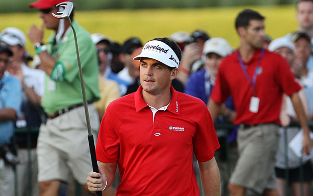 Keegan Bradley made history in 2011, winning the PGA Championship using a belly putter. (Getty Images)