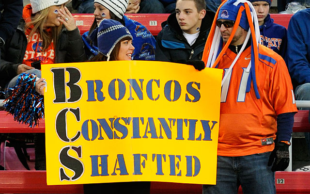 Will a home-and-home with Troy help change the future playoffs' view of the Broncos? (Getty Images)