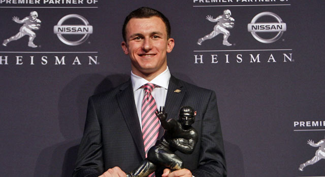 Johnny Manziel has been racking up awards in the past few weeks, the AP honor his latest. (US Presswire)