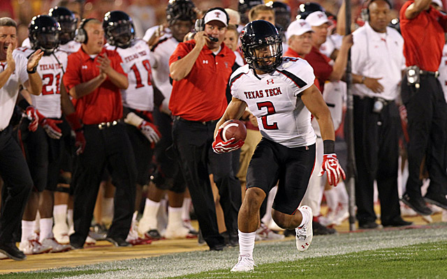 Starting DB Cornelius Douglas is one of three Red Raiders suspended for their bowl game. (US Presswire)