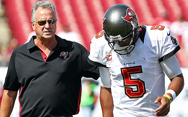 Ron Turner most recently was the quarterbacks coach for the Tampa Bay Buccaneers. (US Presswire)