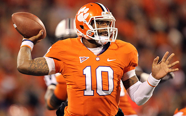 Tajh Boyd will start for Clemson in its highly anticipated opener against Georgia on Aug. 31. (Getty Images)