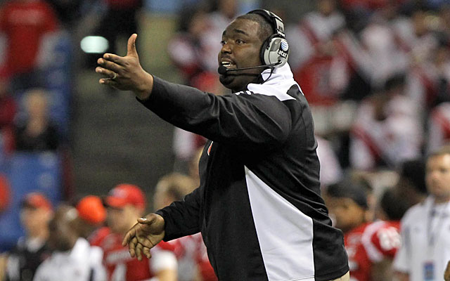 Louisville assistant Clint Hurtt is accused of committing violations while he was at Miami. (USATSI)