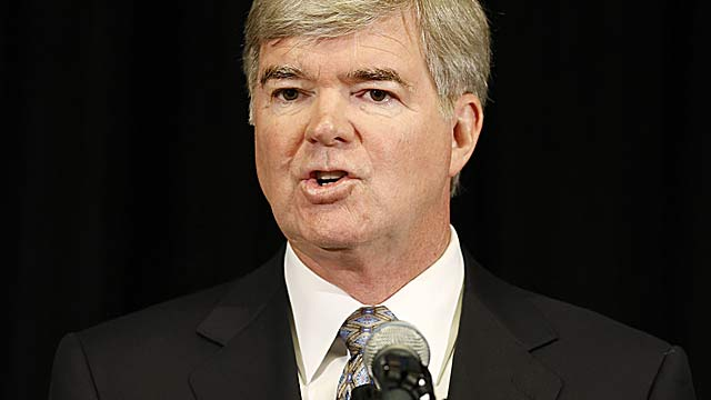 Mark Emmert will explain the NCAA's side of the case Thursday.