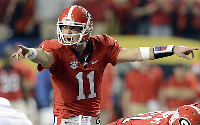 Georgia's Aaron Murray tries to elevate his game by working this offseason with QB guru George Whitfield. (USATSI)