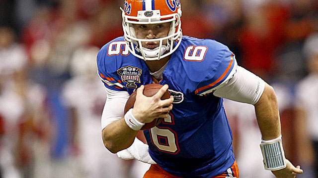 Gators QB Jeff Driskel on last season: 'I didn't know the protections well enough.' (USATSI)