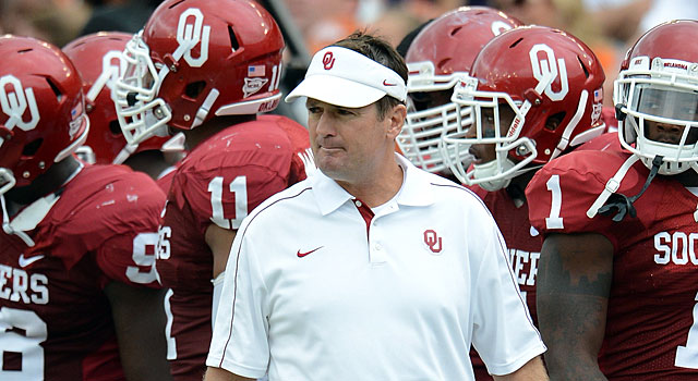 Bob Stoops has won eight Big 12 Championships at Oklahoma. (USATSI)